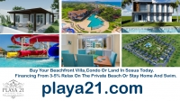 Book your Best Villas In Sosua rental or purchase your own condo and you will be furnished with a complete modular kitchen. You can prepare your own foods.